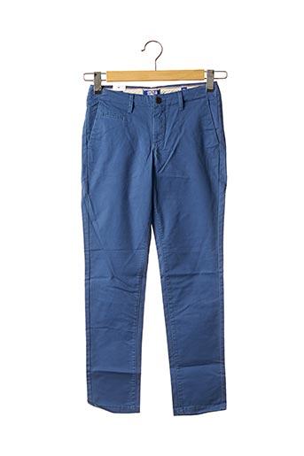 Pantalon chic bleu JACK & JONES pour garçon