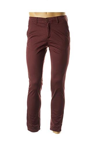 Pantalon chic rouge JACK & JONES pour homme