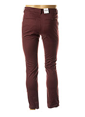 Pantalon chic rouge JACK & JONES pour homme seconde vue