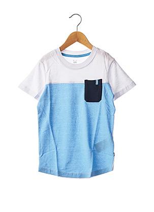T-shirt manches courtes blanc JACK & JONES pour garçon