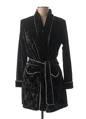 Robe de chambre noir CHRISTIAN CANE pour femme