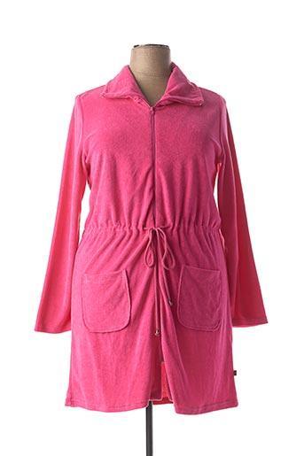 Robe de chambre rose RINGELLA pour femme