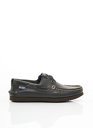 Chaussures bâteau bleu ZODIAC pour homme