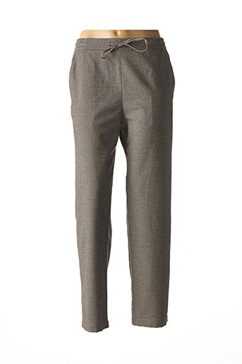 Pantalon casual beige BENSIMON pour femme