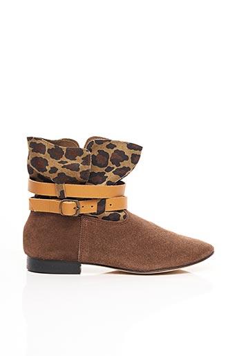 Bottines/Boots marron ANNIEL pour femme