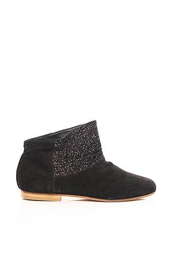 Bottines/Boots noir ANNIEL pour femme
