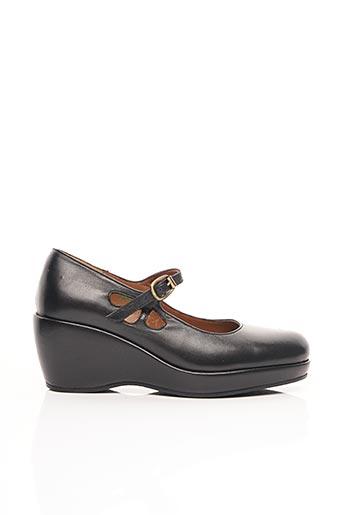 Sandales/Nu pieds noir ACCESSOIRE DIFFUSION pour femme