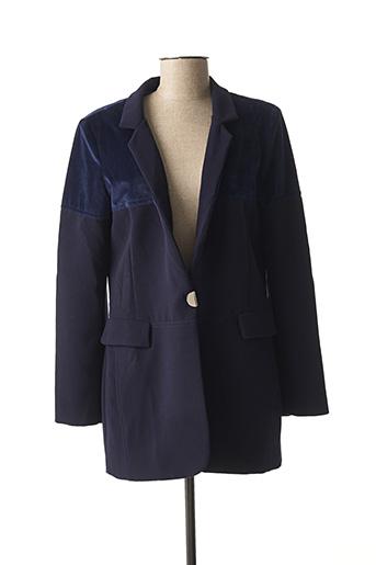 Veste chic / Blazer bleu FUEGO WOMAN pour femme