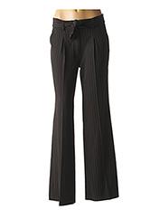 Pantalon casual noir JAVIER SIMORRA pour femme seconde vue