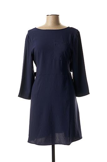 Robe courte bleu CHARLISE pour femme