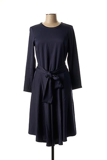 Robe mi-longue bleu AMERICAN VINTAGE pour femme