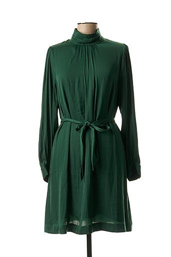 Robe mi-longue vert ESSENTIEL ANTWERP pour femme