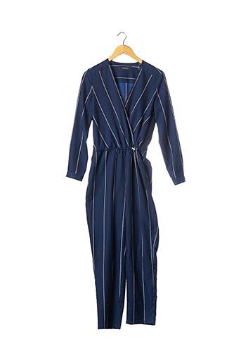 Combi-pantalon bleu SCOTCH & SODA pour femme