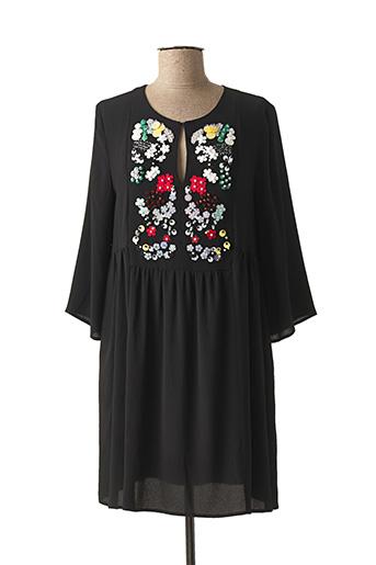 Robe courte noir BEATRICE pour femme