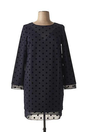 Robe mi-longue bleu CRISTINA EFFE pour femme