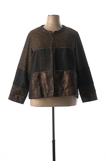 Veste casual marron MERI & ESCA pour femme