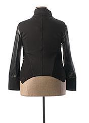 Veste casual noir LESLIE pour femme seconde vue