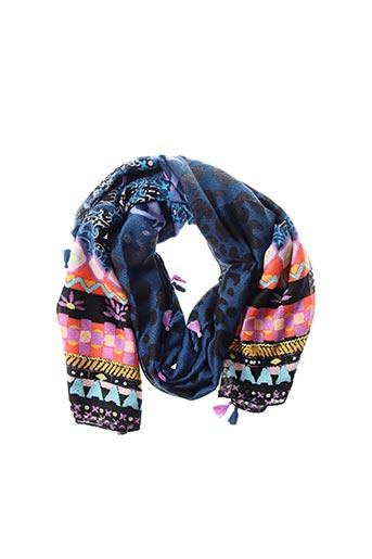 Foulard bleu DESIGUAL pour femme