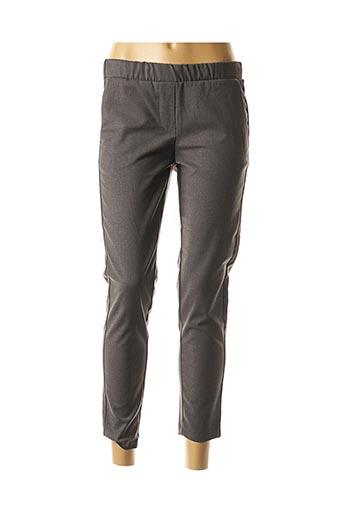 Pantalon 7/8 gris IMPERIAL pour femme