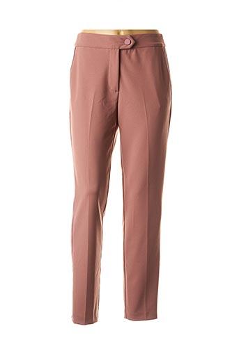 Pantalon casual rose IMPERIAL pour femme
