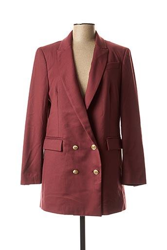 Veste chic / Blazer rouge DIXIE pour femme
