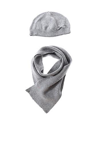 Bonnet gris GROSEILLE pour fille