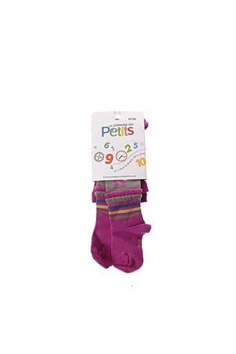 Collants violet LA COMPAGNIE DES PETITS pour fille