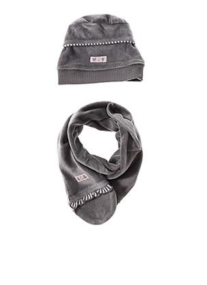 Bonnet gris WIPLALA pour fille