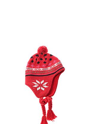 Bonnet rouge MARESE pour fille