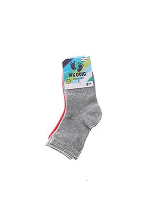 Chaussettes gris PIK OUIC pour garçon