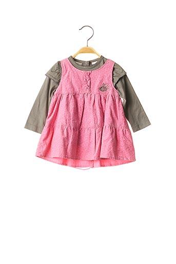 Top/robe rose 3 POMMES pour fille