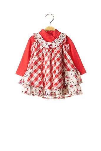 Top/robe rouge ABSORBA pour fille