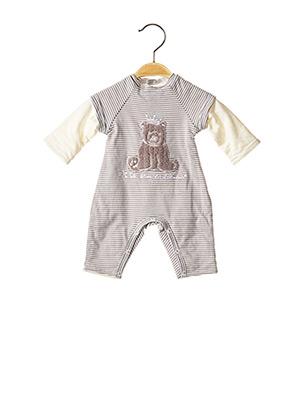 Combi-pantalon gris 3 POMMES pour enfant