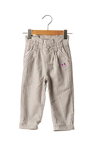Pantalon casual gris LA COMPAGNIE DES PETITS pour fille