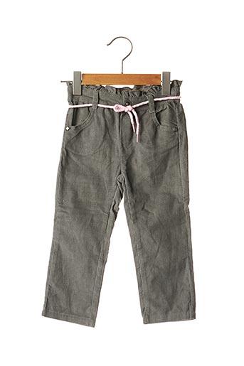 Pantalon casual gris PIK OUIC pour fille