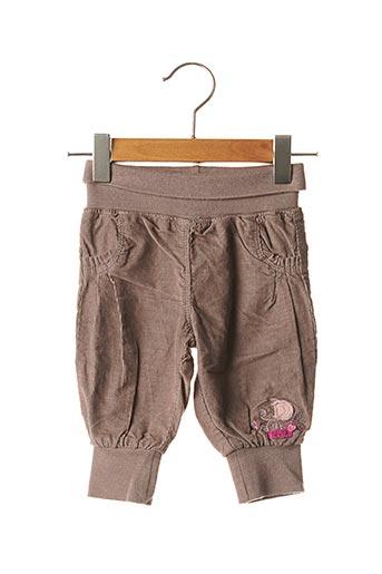 Pantalon casual marron LA COMPAGNIE DES PETITS pour fille