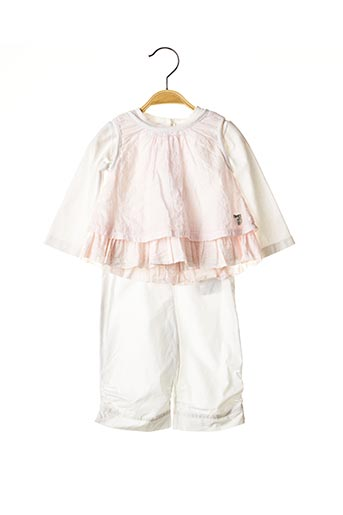 Top/jupe rose ABSORBA pour fille