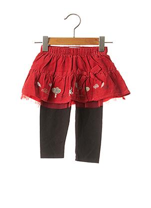 Jupe mi-longue rouge LA COMPAGNIE DES PETITS pour fille