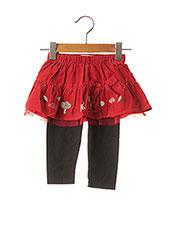 Jupe mi-longue rouge LA COMPAGNIE DES PETITS pour fille seconde vue