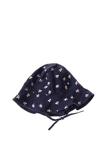 Chapeau bleu JEAN BOURGET pour fille