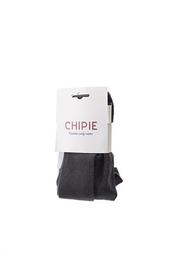 Collants gris CHIPIE pour fille