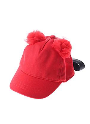 Casquette rouge CATIMINI pour fille