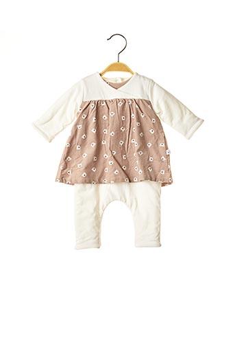 Combi-pantalon marron ABSORBA pour fille
