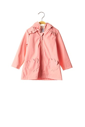 Imperméable/Trench rose ABSORBA pour fille
