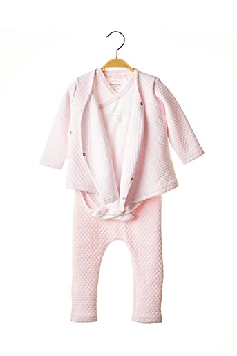 Veste/pantalon rose ABSORBA pour fille