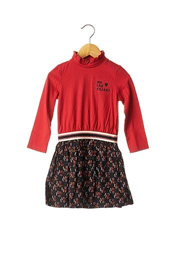 Robe mi-longue rouge CATIMINI pour fille