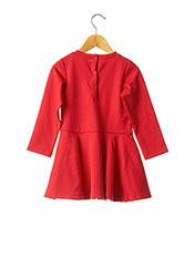 Robe mi-longue rouge 3 POMMES pour fille seconde vue