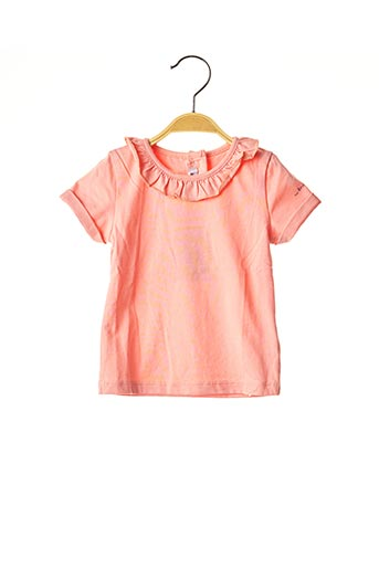 T-shirt manches courtes orange ABSORBA pour fille