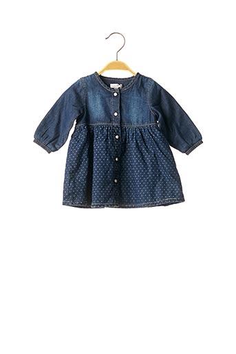 Robe mi-longue bleu ABSORBA pour fille
