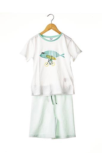 Pyjashort vert ABSORBA pour garçon